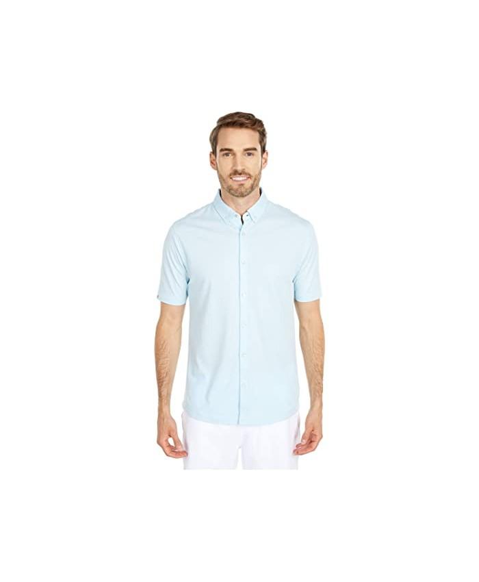 Linksoul LS1255 Dry-Tek Oxford Short Sleeve Button-Down Shirt