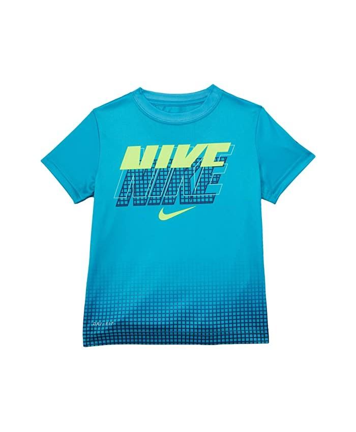 Nike Kids Block Statement Graphic T-Shirt (Little Kids)
