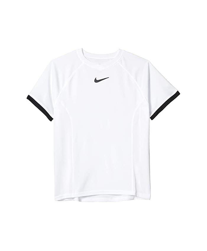 Nike Kids Court Dri-FIT™ Short Sleeve Top (Big Kids)