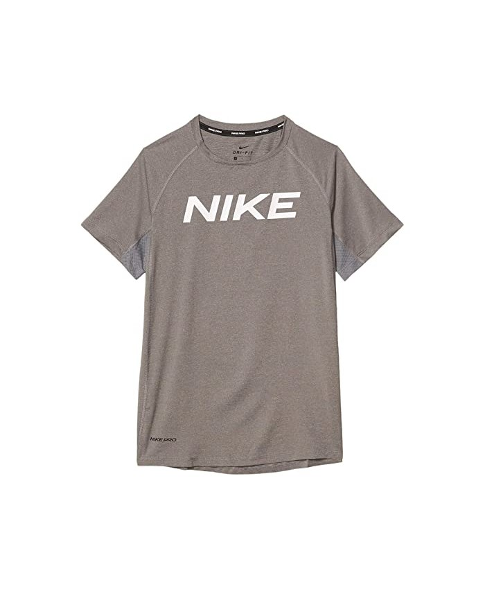 Nike Kids Pro Short Sleeve Fitted Top (Big Kids)