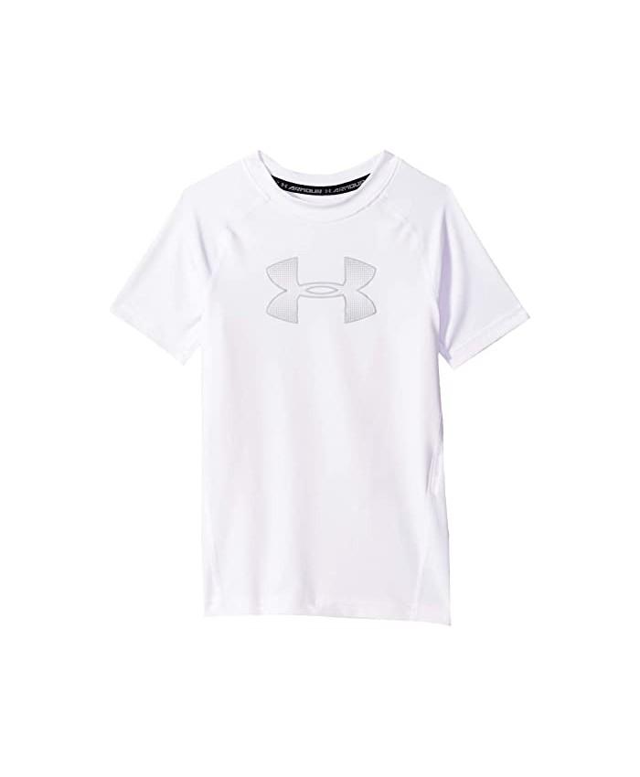 Under Armour Kids Armour HeatGear® Short Sleeve (Big Kids)