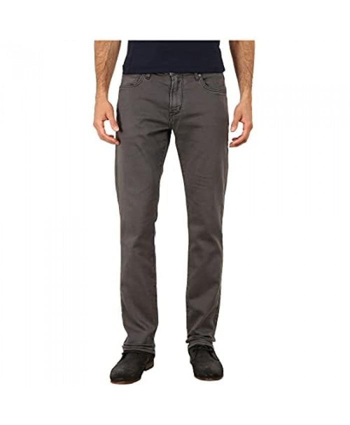 John Varvatos Star USA Men's Bowery Slim Fit Straight Leg Knit Jean