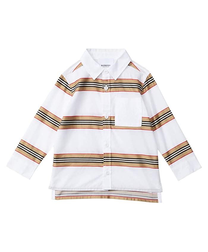 Burberry Kids Alder Casual Shirt (Infant\u002FToddler)