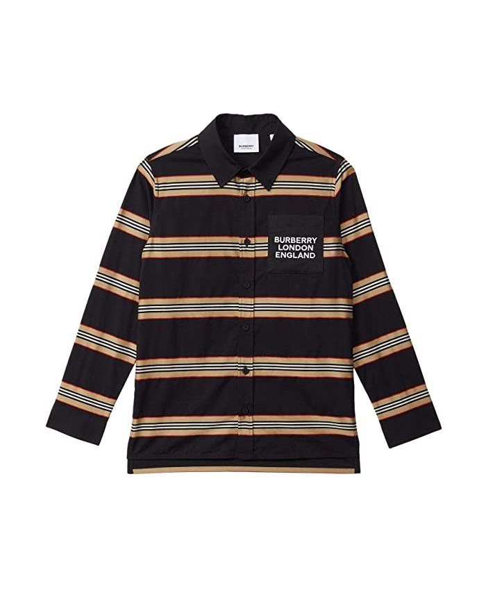 Burberry Kids Alder Casual Shirt (Little Kids\u002FBig Kids)
