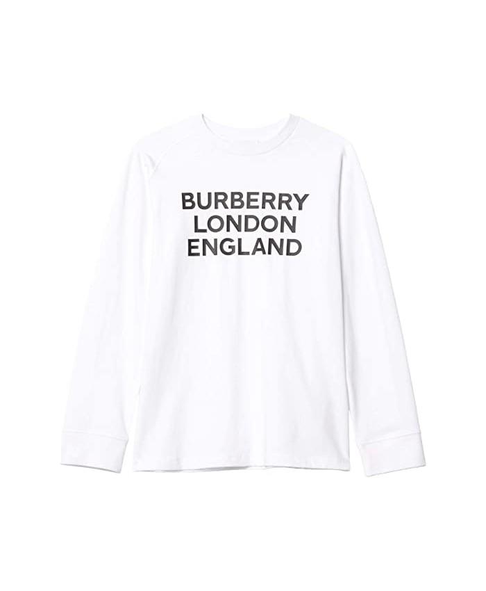 Burberry Kids BLE Tee Long Sleeve (Little Kids\u002FBig Kids)
