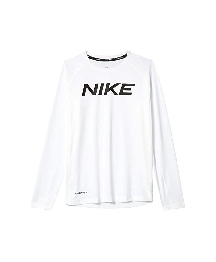 Nike Kids Pro Long Sleeve Fitted Top (Big Kids)