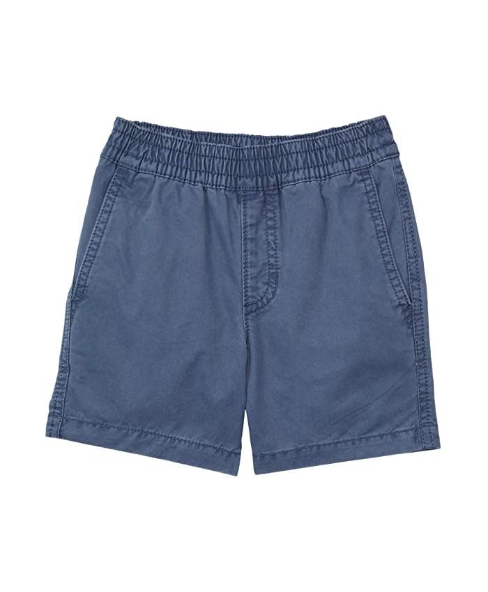 Vans Kids Range Salt Wash Shorts (Toddler\u002FLittle Kids\u002FBig Kids)